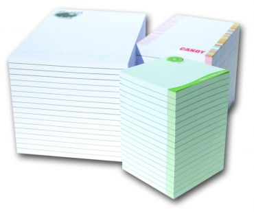 90mm Square Notepads