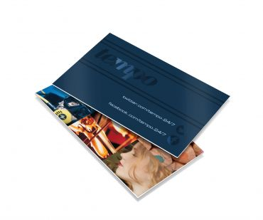 Soft Touch Laminated with Spot UV (450gsm) Double Sided